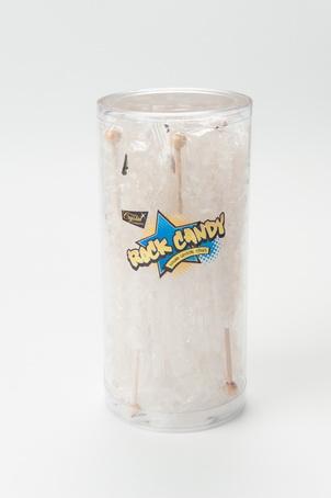 18pc Rock Candy Stick Tub White