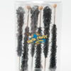 6pc rock candy sticks black