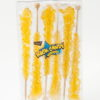 6pc rock candy sticks gold