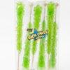 6pc rock candy sticks light green