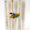 6pc rock candy sticks silver